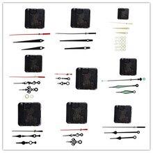 1 Set Hanging DIY Quartz Watch Silent Wall Clock Movement Quartz Repair Movement Clock Mechanism Parts With Needles