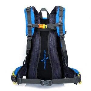 Image 3 - Su geçirmez tırmanma sırt çantası sırt çantası 40L açık spor çanta seyahat sırt çantası kamp yürüyüş sırt çantası kadın Trekking çantası erkekler için