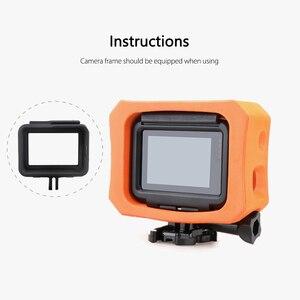 Image 3 - Vamson funda protectora para GoPro, funda flotante naranja para GoPro Hero 7 6 5 negro 7 plateado blanco, funda impermeable, accesorio para cámara