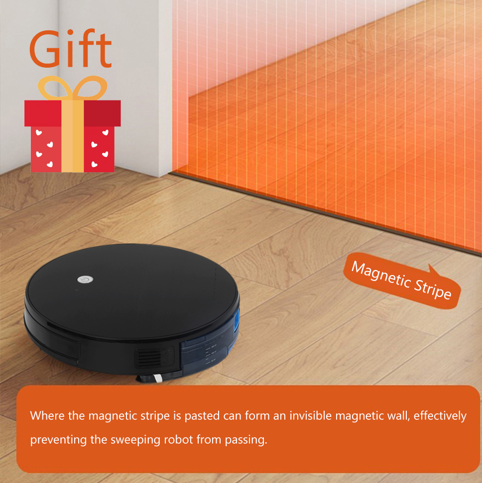 Hf85bf4c455584867a3f01d9f40a119f37 IMASS Robot Vacuum Cleaner Automatic Sweeping Dust Mopping Mobile Home Smart Cleaning Wireless Robotic Automatic Charging
