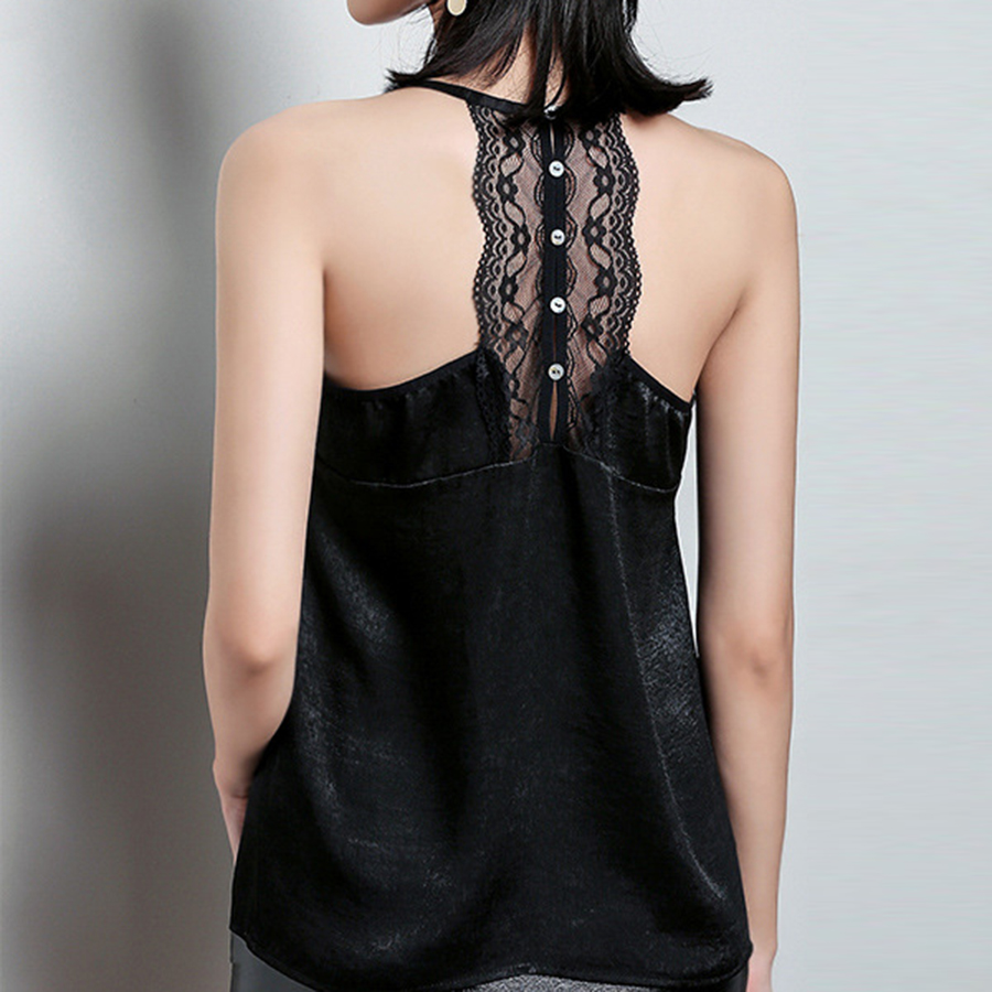 Lace stitching camisole female loose bottoming <font><b>sexy</b></font> V-neck lace tops underwear women <font><b>sexy</b></font> top <font><b>haut</b></font> <font><b>femme</b></font> woman clothes image