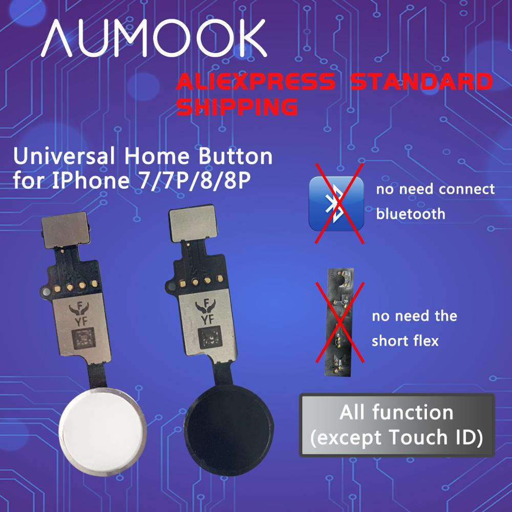 YF Universal Home Button For IPhone 7 7 Plus 8 8plus Home Button Flex Cable Restore Ordinary Button Replacement Return Functions
