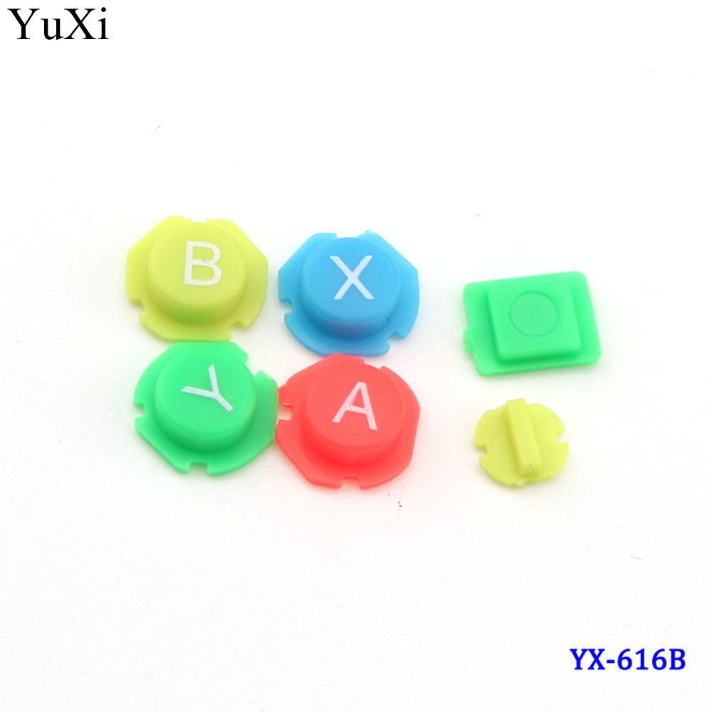 Красочные ABXY направления клавиши кнопки джойстик для nintendo Switch NS NX контроллер Joy-con/для Joy Con левый и правый контроллер
