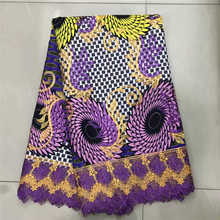 Factory offers Superior 2019African Wax Prints Fabric and African Lace For Christmas Evening Dresses Winn131g