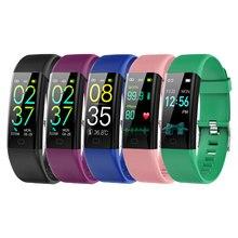 Montre connectée de Sport pour hommes et femmes, Bracelet de Sport, étanche, horloge de température, nouveau, 2021