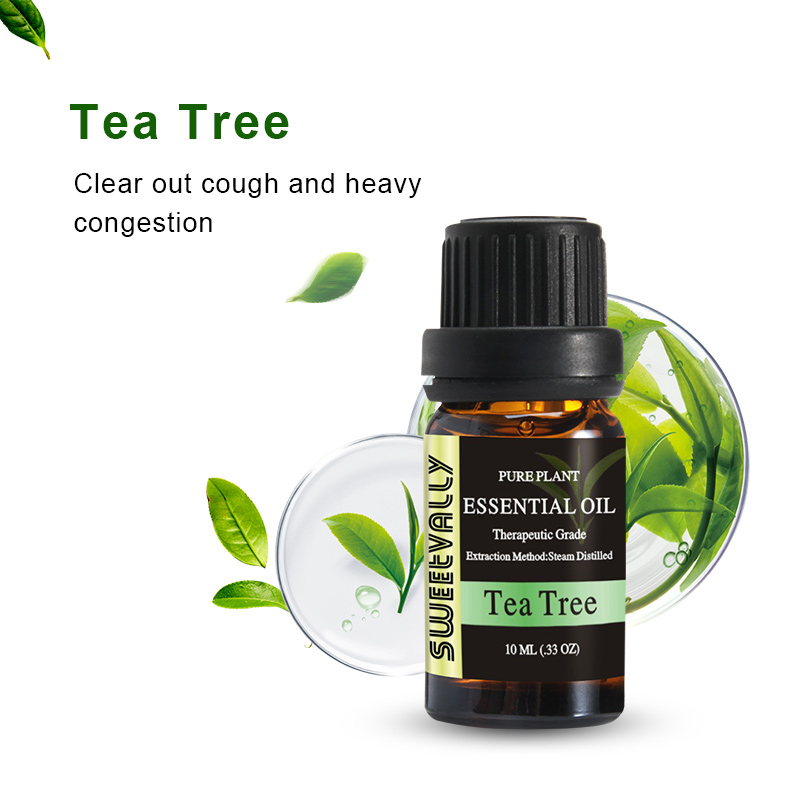 10ml  Essential Oil Natural Plant Aromatherapy Relaxing Fragrance Tea Tree Essential Oils For Home Air Humidifier Freshener