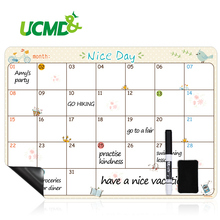 A3 Flexible Weekly Daily Planner Magnetic Message Board Kitchen Bulletin Memo Boards Fridge Magnets Drawing Calendar Whiteboard