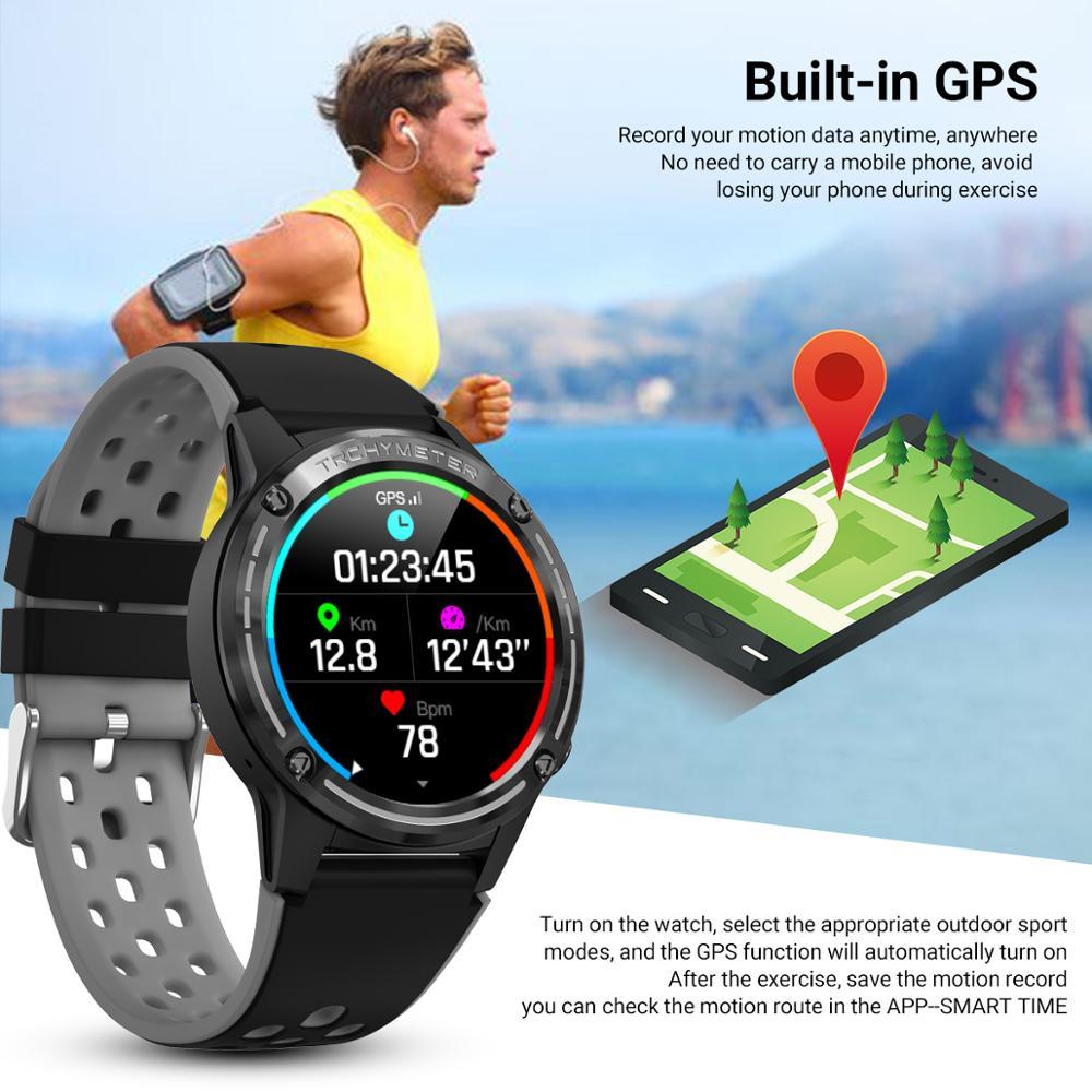 Смарт-часы M6C с gps для телефонов Android IOS, барометр с компасом, фитнес-трекер, пульсометр, монитор кровяного давления, Смарт-часы