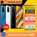Глобальная версия смартфона POCO F3 5G 6 ГБ 128 ГБ/8 ГБ 256 ГБ Восьмиядерный Snapdragon 870 6,67