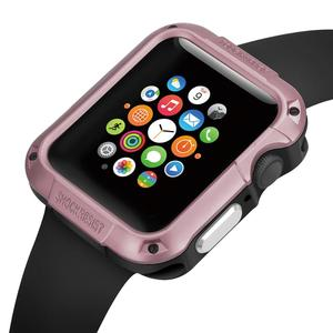 Armor Protective Silicone Cover Case For iWatch Apple Watch Series 6 5 4 3 2 1 SE 38 40 42 44 mm 40mm 42mm 38mm 44MM Accessories