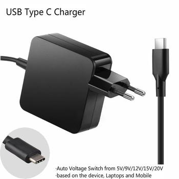 20V 3 25A 2 25A 65W 45W rodzaj USB C Adapter do laptopa do HP Pavilion x2 10-n054sa N8N14AA TPN-CA02 Tpn-ca01 814838-002 815049-001 tanie i dobre opinie BINYEAE 20 v Dla hp 65wusbc013