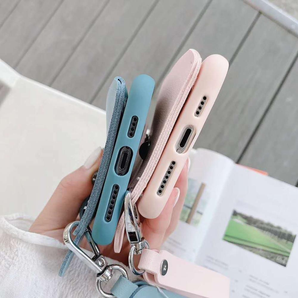 wallet phone case for Samsung S20 Ultra A10S A20S A80 A20E soft silicone cover with card holder wallet strap cute puppy case