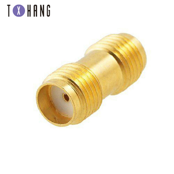 SMA Male to SMA Male Plug+ 2X SMA Female to Female Jack RF Adapter Connector coaxial connectors image