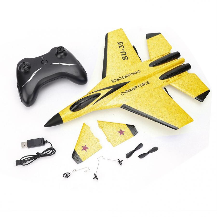 FX820 Anti-collision Electric Remote Control Fixed Wing Dual Motor RC Airplane