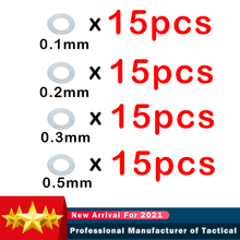 60 шт. Нержавеющаясталь супер Шестерни Комплект прокладок для страйкбола AEG M4 Шестерни коробка гель Blaster BD556 Jinming Пейнтбол точные аксессуары