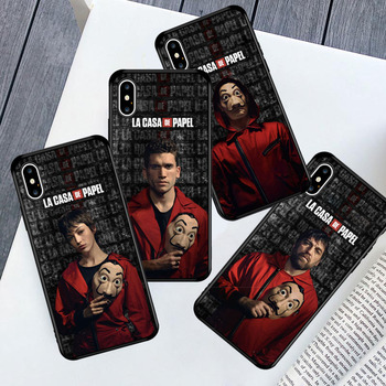 Nairobi Berlin Denver TPU Phone Case for IPhone 12 11 Pro Max X XR XS 6s 7 8 Plus SE 2020 Money Heist House Paper TV-Show Cover image
