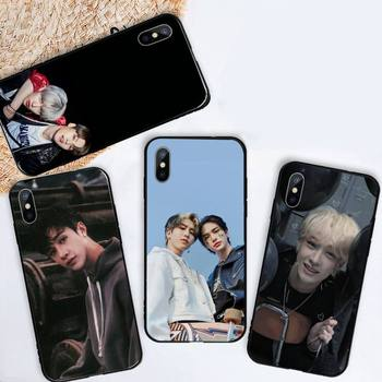 Felix Chan I.N KPOP Straykids чехол для телефона iPhone 11 12 mini pro XS MAX 8 7 6 6S Plus X 5S SE 2020 XR image