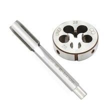 1/2-28 Gunsmithing Tap + Die Set (1/2 X 28) For 9mm, 223, 5.56, 22LR 1/2x28 Tap + 1/2x28 Die цена