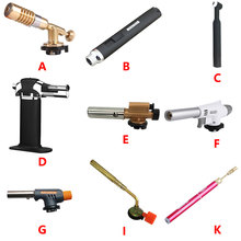 Torch Gas-Burner Welding-Equipment Flame Electronic-Ignition Butan Picnic Outdoor Camping