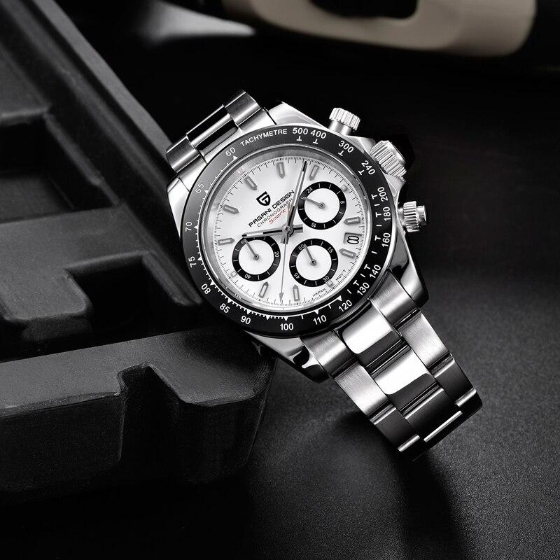PAGANI DESIGN 2019 nouveau hommes montres Quartz affaires montre hommes montres haut de gamme de luxe montre hommes chronographe Relogio Masculino - 4