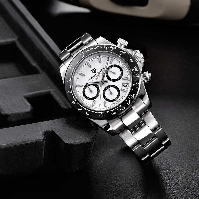 Hot DealsMen's Watches Business-Watch Quartz Men Chronograph VK63 Pagani-Design Top-Brand Reloj
