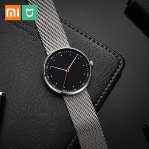 Image 1 - Xiaomi Reloj de lujo Youpin TwentySeventeen para hombre y mujer, reloj de cuarzo, esfera de 39mm, resistente al agua hasta 3ATM