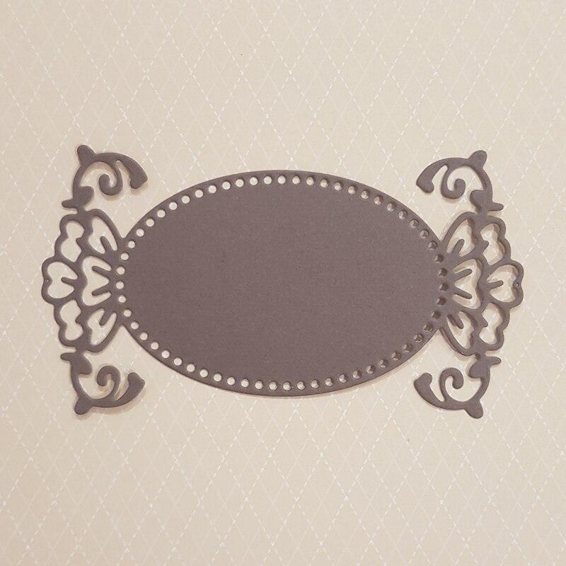 SCD607 Metal Cutting Dies For Scrapbooking Stencils Wedding DIY Cut Album Cards Decoration Embossing Folder Craft Die Cuts Tools