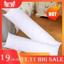 ארוך כרית פנימי לבן גוף כרית כרית אנימה מלבן שינה תנומת כרית בית שינה לבן מצעים אביזרי 150x50CM