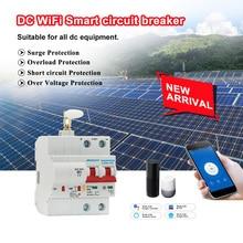 цена на DC WiFi Smart Circuit Breaker overload and short circuit protection for Amazon Alexa and Google home