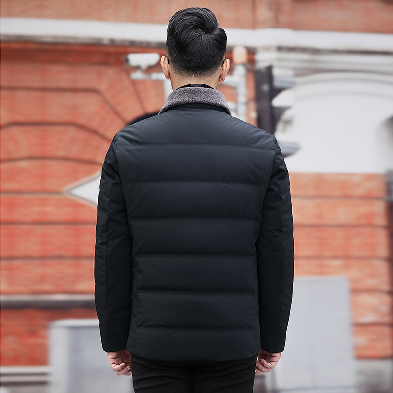 Plus size 10xl 9xl 8xl jaqueta de inverno para baixo dos homens nova marca 90% pato branco para baixo engrossar quente masculino negócios casual casacos roupas - 2