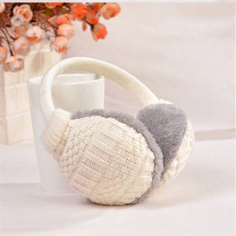2019 Winter Knitted Detachable Warm Earmuffs Knitted Children Ear Muffs Gift Ear Warmers New Arrival