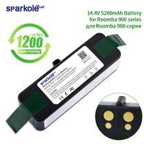 Sparkole 5.2Ah 14.4V Li-ion battery for irobot roomba 900 800 700 600 500 series vacuum cleaner 980 960 890 880 780 690 650 620