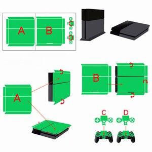 Image 5 - Joker para PS4 funda adhesiva de vinilo para Sony PlayStation 4 consola y 2 pegatina para control de la cubierta accesorios de juego