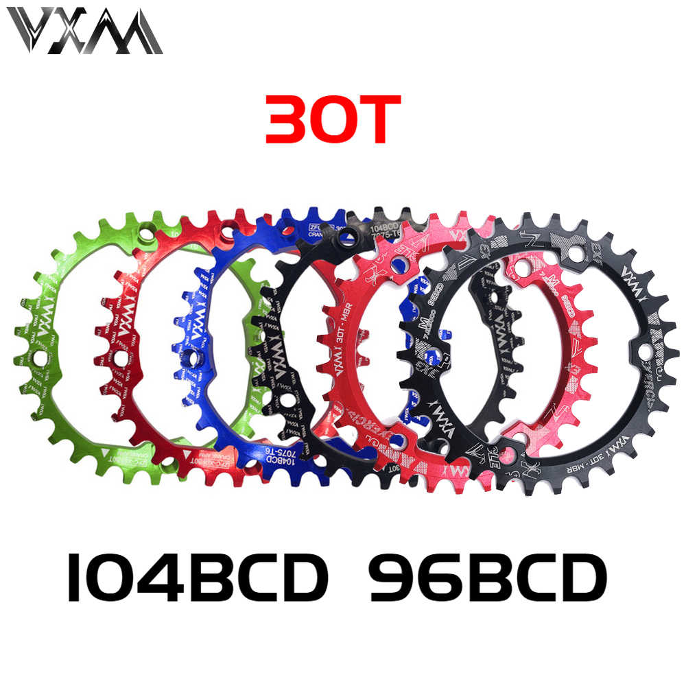 SNAIL 104bcd Narrow Wide Aluminum Alloy Cycling Round 30t Single Tooth Chainring