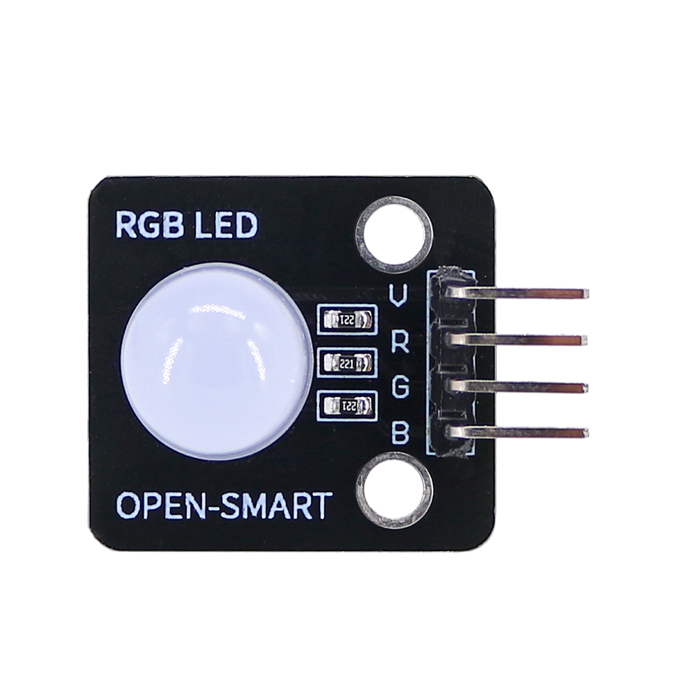 OPEN-SMART 4-PIN 10MM Common Anode RGB LED Display Module Light Emitting Diode For Arduino UNO R3