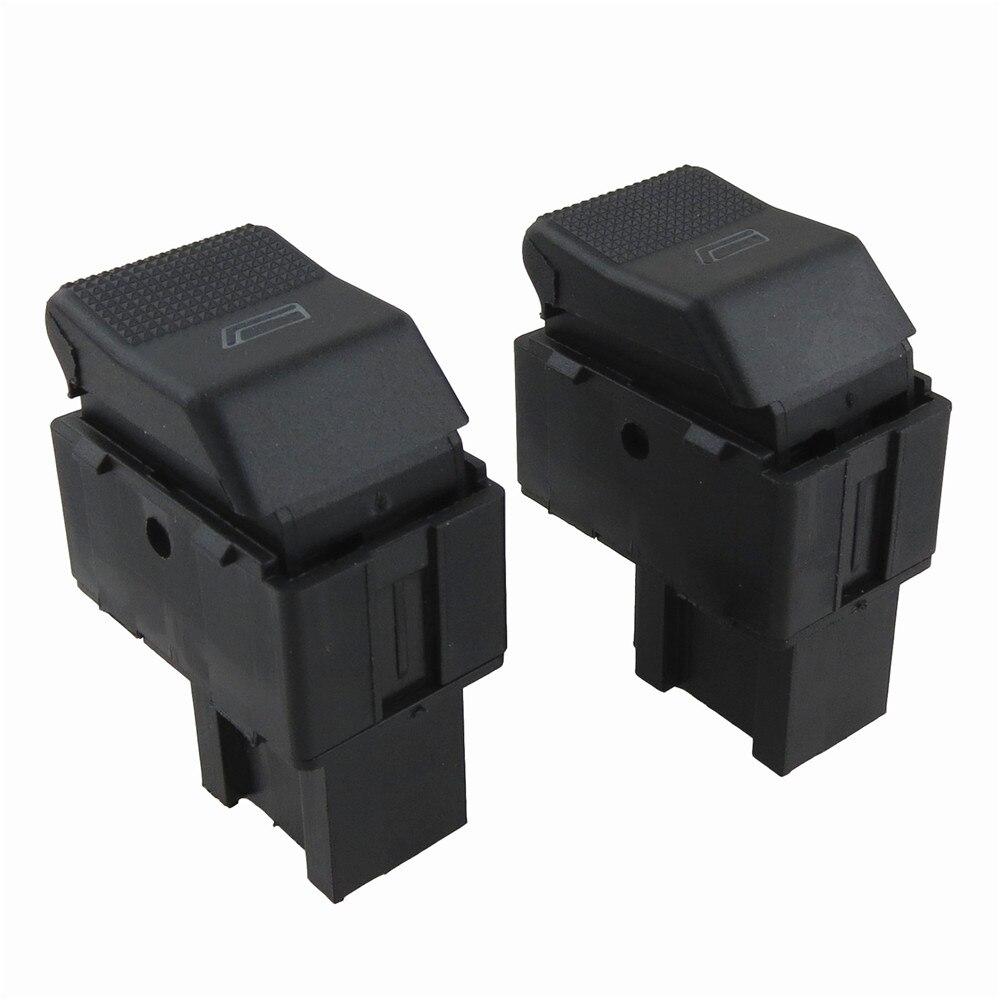 2 قطعة مفتاح كهربائي للنوافذ زر واحد Contorl ل V-W بولو لوبو مقعد قرطبة 6X0959855B تصفيف السيارة.