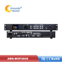 new product amoosnky AMS-MVP 300S with sdi input support 2pc nova msd300 sending card like ks600 vp1000 for led display