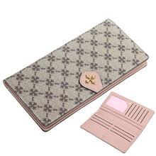 European and American fashion women's long wallet fashion ultra-thin multi-card wallet new creative coin purse