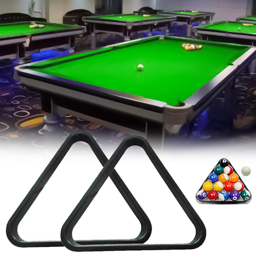 1.8/2/2.5inch Plastic Pool Ball Billiard Table Triangle Rack Standard Size Billiard Table Rack Snooker Billiard Accessories