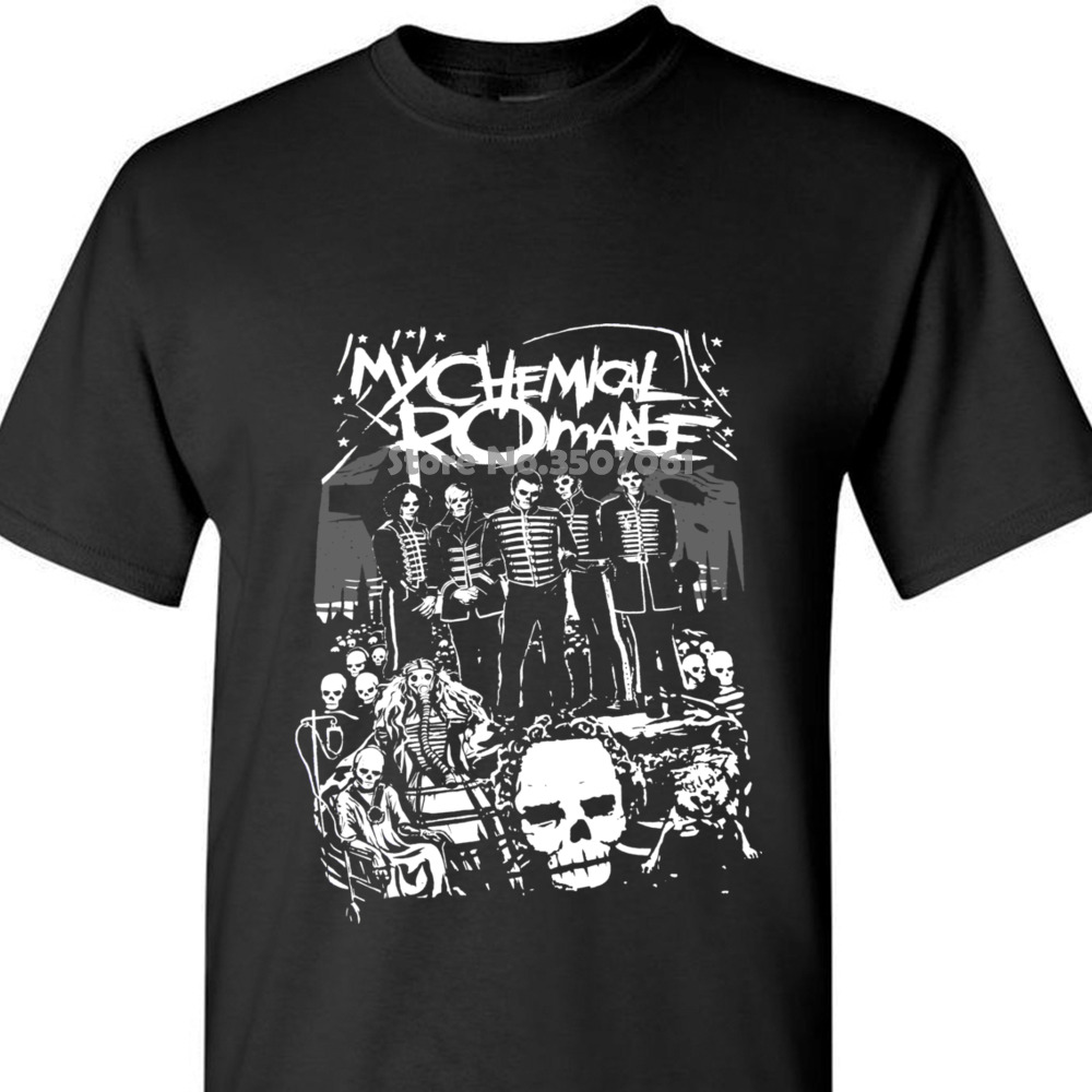 Official My Chemical Romance Dead Parade Women/'s T-Shirt Survived Bat Danger