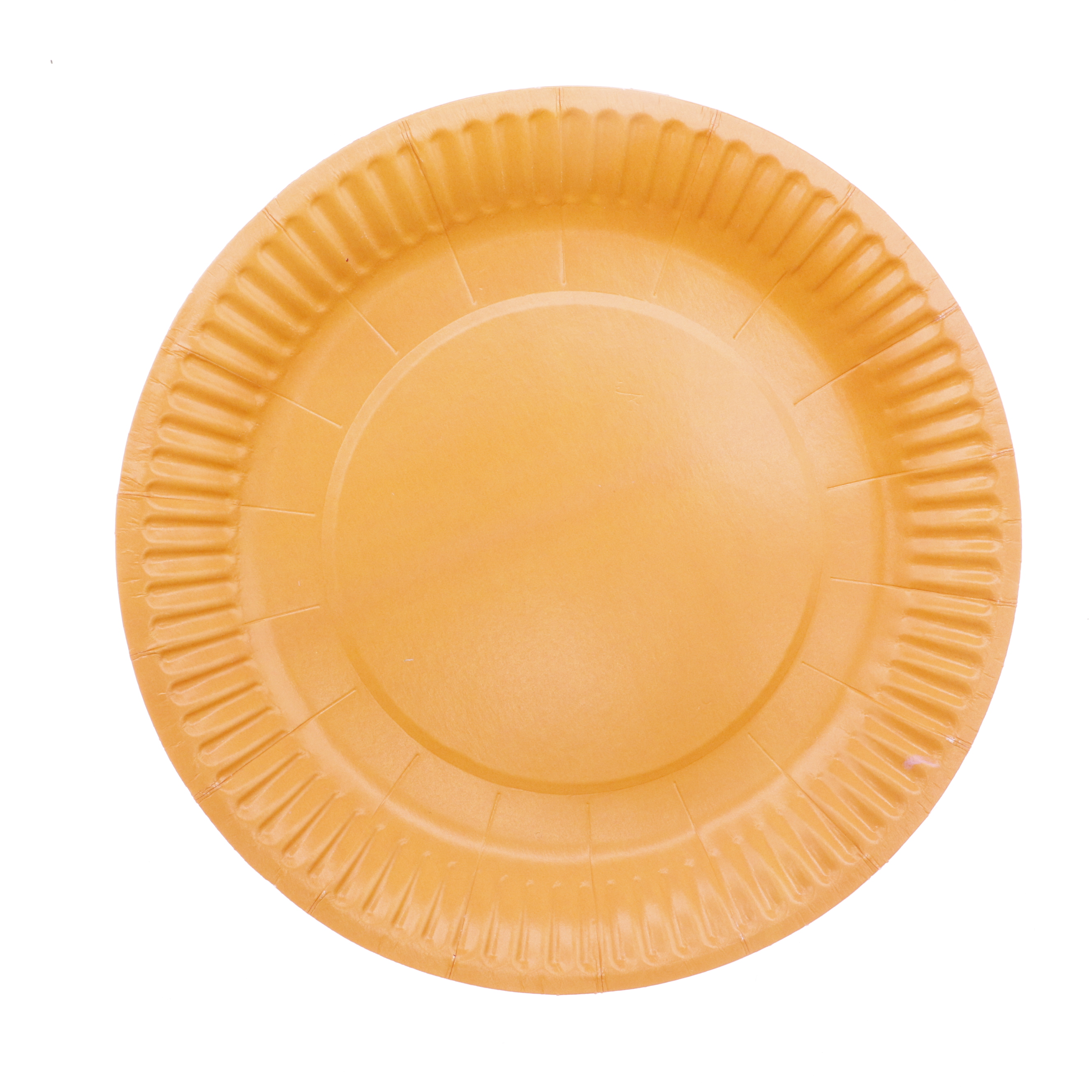 Купить с кэшбэком 20Pcs 7inch Disposable Tableware Set Disposable Paper Plate Fruit Plate Cake Tray Wedding Birthday Decoration Party Supplies