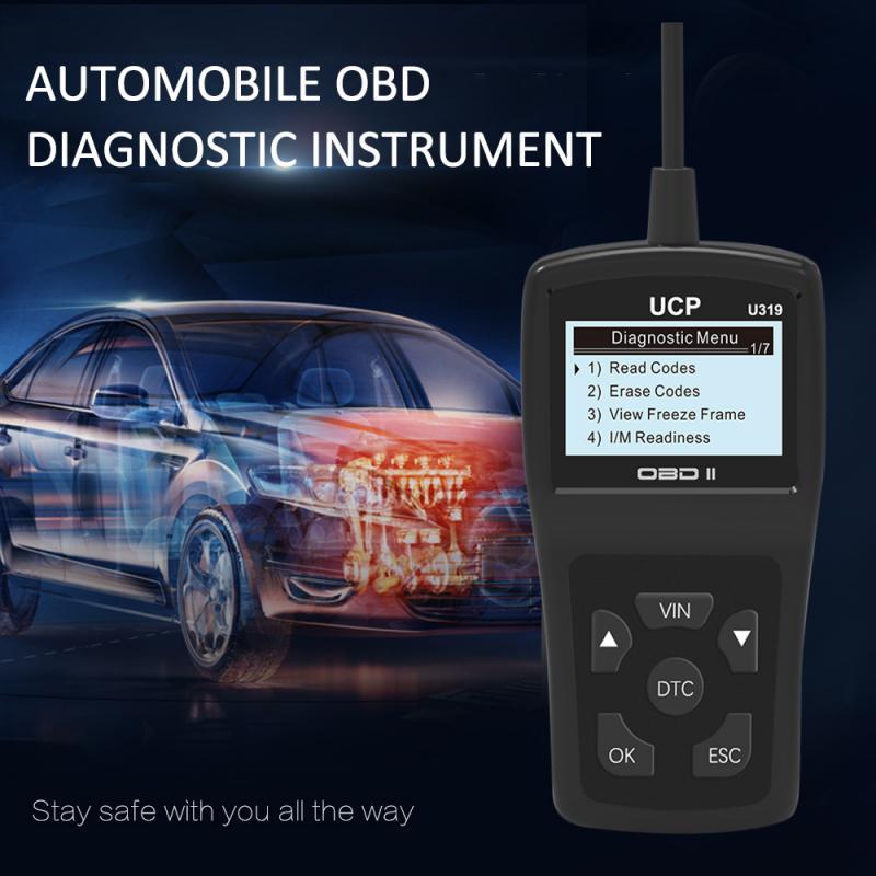 Fault Code Reader OBD2 OBDII Engine Code Reader Creader Car Vehicle Diagnostic Scanner U319 OBD2 Car Diagnostic Tool Dropship