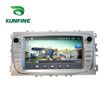 Quad Core Android 8.1 Car DVD GPS Navigation Player Deckless Car Stereo for Ford Focus Mondeo S-max 200-2010 Headunit Radio image
