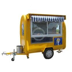 Plaża napój do ciężarówek/Hamburger ekspres do kawy wózek na lody/przyczepa do żywności|Maszyny do lodów|   -