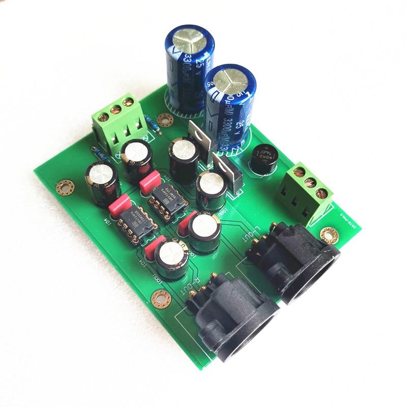 Unbalanced To Balanced DRV134PA Dual-channel Single-ended Converter Balance Output Board /kits /PCB Free Shipping
