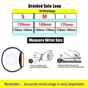Image 5 - Nylon Braided Strap for Mi band 6 5 4 3 Wristband Sports Breathable Bracelet for Miband 6 5 4 3  Miband6 Miband5 Strap correa