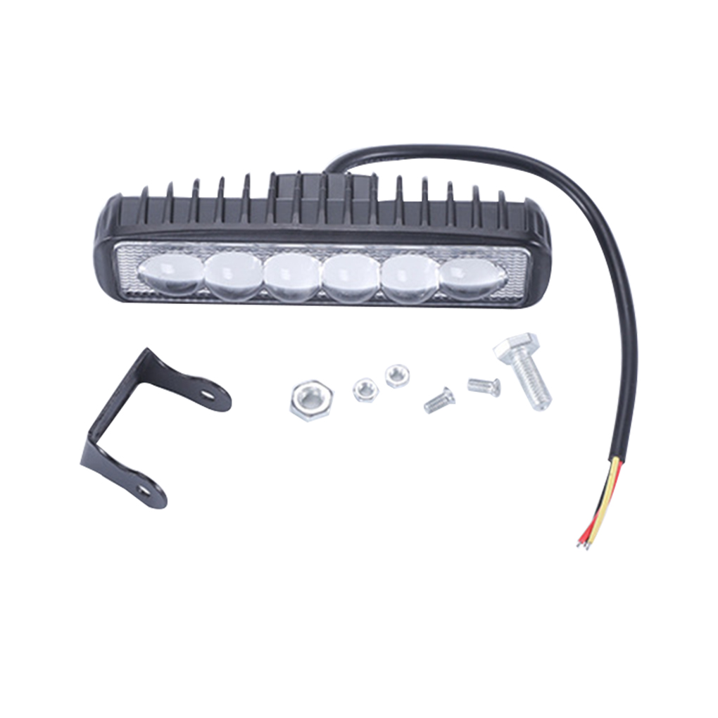 Driving Fog Offroad <font><b>LED</b></font> Work Car Light 18W <font><b>12</b></font>-<font><b>80V</b></font> <font><b>LED</b></font> Universal Driving Light Bar Spotlight Flood Lamp image