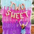 1 set Zwei süße Rosa Donuts Folie Luftballons Baby Dusche 2nd Geburtstag Party Decor Dessert Kuchen Aufblasbare Helium Kinder Spielzeug ballon