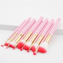12Pcs Makeup Brushes Set Cosmetic Foundation Powder Blush Eye Shadow Lip Blend Wooden Make Up Brush Tool Kit Maquiagem T12006