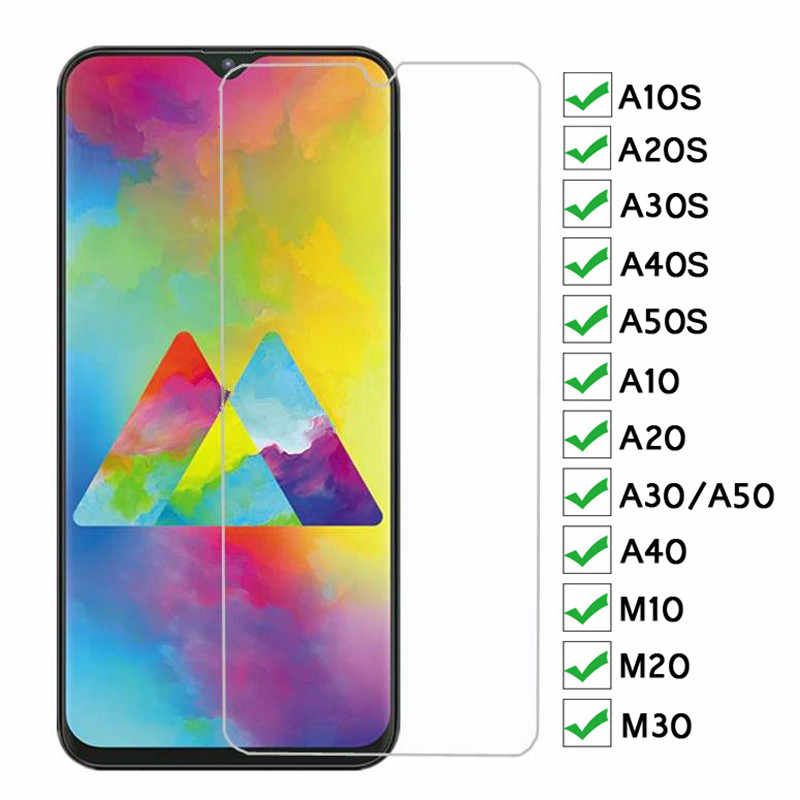9H Protective Glass For Samsung Galaxy A10S A20S A30S A40S A50S A10 A20 A30 A40 A50 Tempered Glass M10 M20 M30 Screen Protector